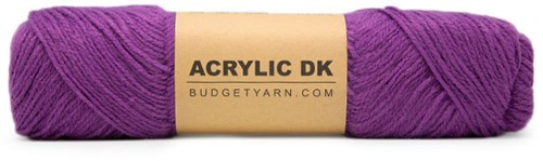 Budgetyarn Acrylic DK 054 Grape