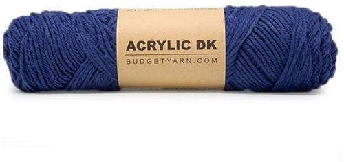 Budgetyarn Acrylic DK 060 Navy Blue