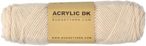 Budgetyarn Acrylic DK 003 Ecru