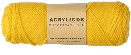 Budgetyarn Acrylic DK 015 Mustard