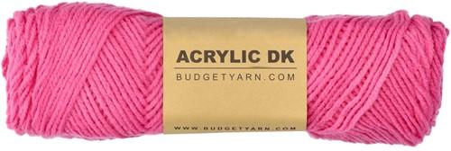 Budgetyarn Acrylic DK 035 Girly Pink