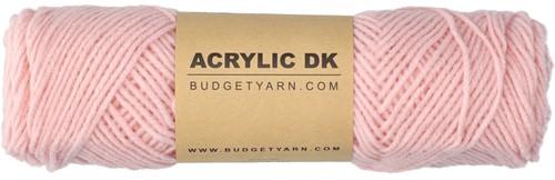 Budgetyarn Acrylic DK 046 Pastel Pink