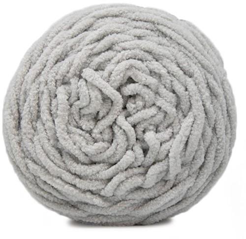Budgetyarn Chunky Chenille 095 Soft Grey