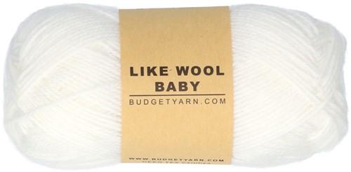 Budgetyarn Like Wool Baby 001 White