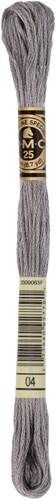 DMC 117MC Mouliné Spécial Embroidery Thread 8m 04