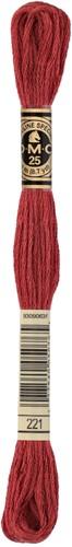 DMC 117MC Mouliné Spécial Embroidery Thread 8m 221