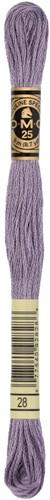 DMC 117MC Mouliné Spécial Embroidery Thread 8m 28