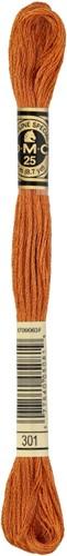DMC 117MC Mouliné Spécial Embroidery Thread 8m 301