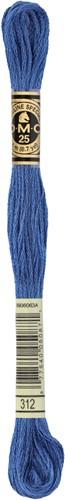 DMC 117MC Mouliné Spécial Embroidery Thread 8m 312