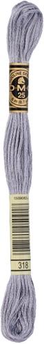 DMC 117MC Mouliné Spécial Embroidery Thread 8m 318