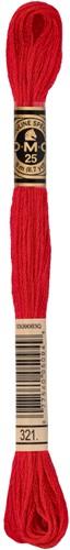 DMC 117MC Mouliné Spécial Embroidery Thread 8m 321