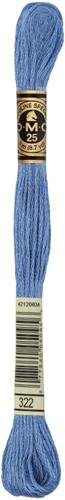 DMC 117MC Mouliné Spécial Embroidery Thread 8m 322