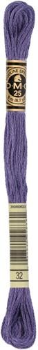 DMC 117MC Mouliné Spécial Embroidery Thread 8m 32