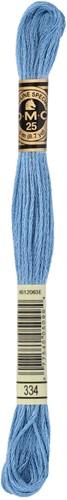 DMC 117MC Mouliné Spécial Embroidery Thread 8m 334