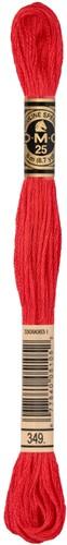 DMC 117MC Mouliné Spécial Embroidery Thread 8m 349