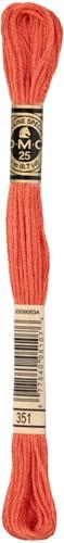 DMC 117MC Mouliné Spécial Embroidery Thread 8m 351