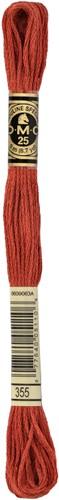 DMC 117MC Mouliné Spécial Embroidery Thread 8m 355