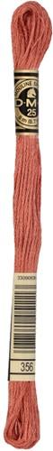 DMC 117MC Mouliné Spécial Embroidery Thread 8m 356