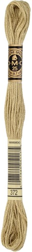 DMC 117MC Mouliné Spécial Embroidery Thread 8m 372