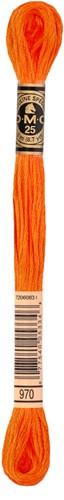 DMC 117MC Mouliné Spécial Embroidery Thread 8m 970