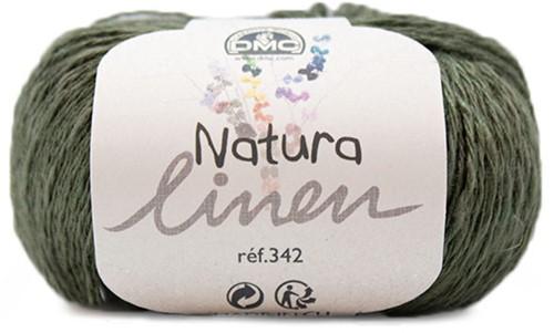 DMC Natura Linen 088 Green