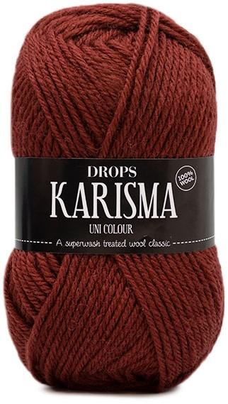 109 yds ea Drops Karisma  Uni Colour 100/%wool yarn Cerise lot of 2
