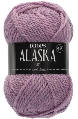 Drops Alaska Mix 40 Grey Pink