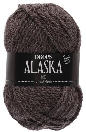 Drops Alaska Mix 50 Dark Brown