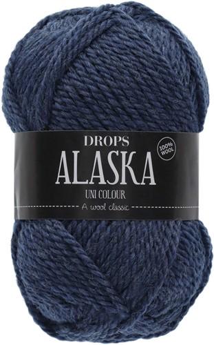 Drops Alaska Uni Colour 37 Dark-blue