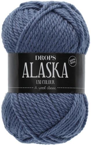 Drops Alaska Uni Colour 57 Denim-blue