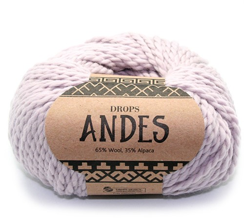 Drops Andes Uni Colour 4010 Pearl Grey