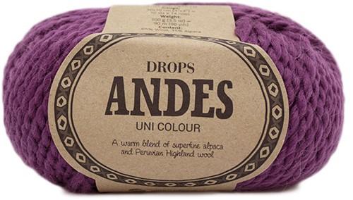 Drops Andes Uni Colour 4090 Heather