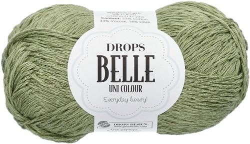 Drops Belle Uni Colour 10 Moss-green