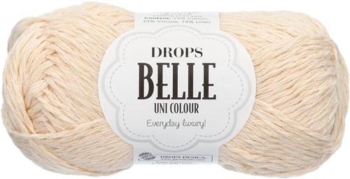 Drops Belle Uni Colour 02 Off-white