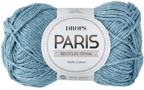 Drops Paris Recycled Denim 101 Light-blue