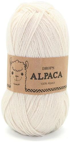 Drops Alpaca Uni Colour 100 Off White