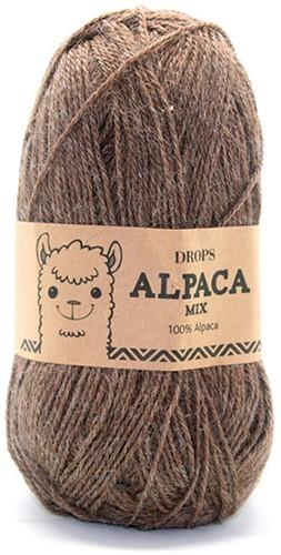 Drops Alpaca Mix 607 Light Brown