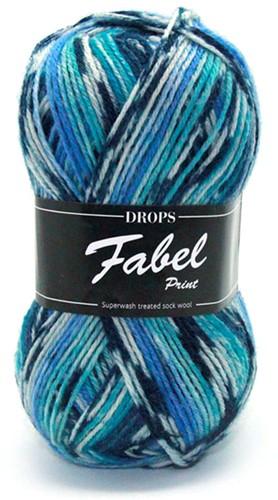 Drops Fabel Print 914 Shoreline