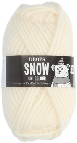 Drops Snow (Eskimo) Uni Colour 01 Off white