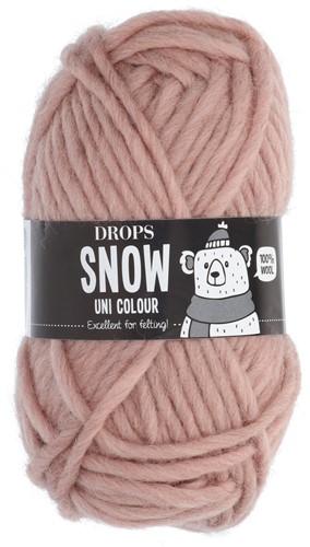 Drops Snow (Eskimo) Uni Colour 13 Powder