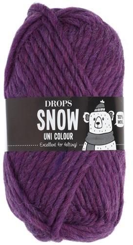 Drops Snow (Eskimo) Uni Colour 20 Plum