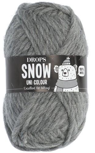 Drops Snow (Eskimo) Uni Colour 46 Medium grey