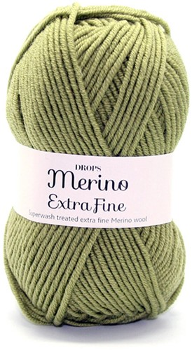 Drops Merino Extra Fine Uni Colour 18 Green