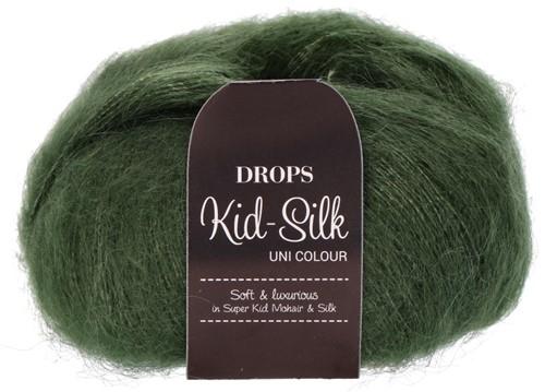 Drops Kid-Silk Uni Colour 19 Dark-green