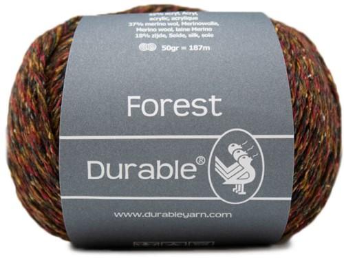 Durable Forest 4010 Bordeaux/Beige