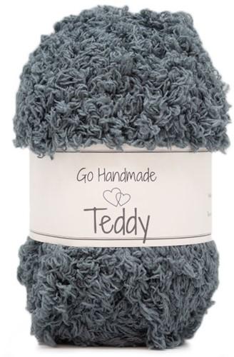 Go Handmade Teddy 17 Grey