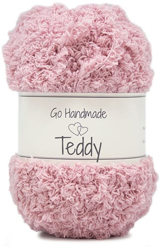 Go Handmade Teddy 19 Old Rose