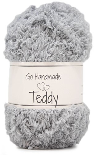 Go Handmade Teddy 47 Light Grey