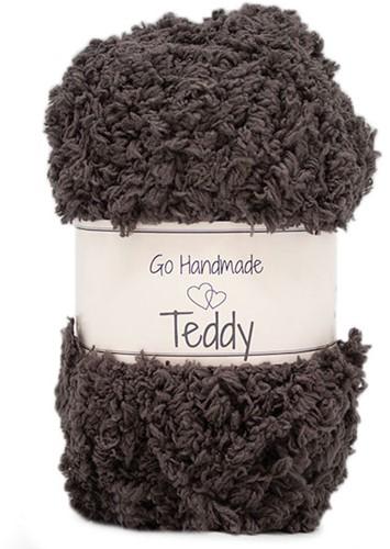 Go Handmade Teddy 49 Dark Brown
