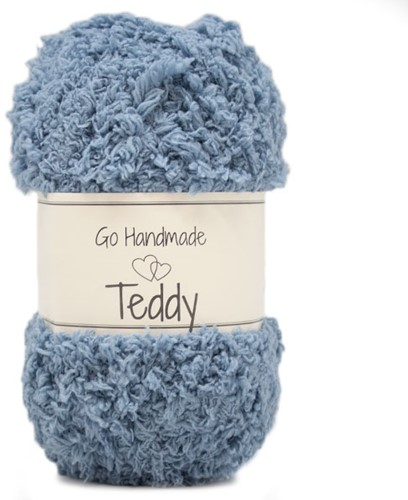 Go Handmade Teddy 74 Jeans Blue